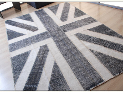 Black And Grey Union Jack Rug Roselawnlutheran